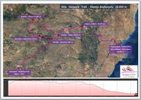 Χάρτης Sitia geopark trail